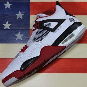 Nike Jordan IV 4 Red/White Mars [308497-162]- 10.5
